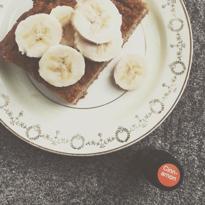 Coconut Flour Banana Bread with doTERRA Cinnamon Bark Essential Oil